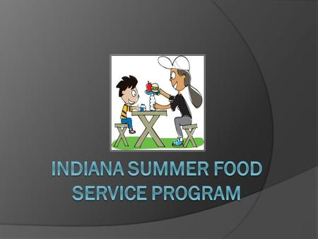 Summer Food Service Program (SFSP) SFSP is a federal feeding program designed to make a difference by meeting the nutritional needs of low income children.