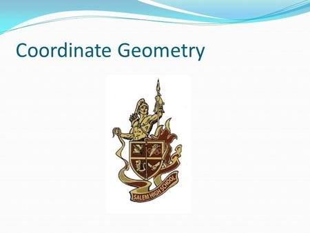 Coordinate Geometry. Time is running out!!!!! The Tuesday after Thanksgiving break (11/30) is the last day to turn in any work from Unit 3 – Geometry.