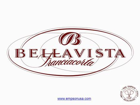 Www.empsonusa.com. Bellavista is located in the Erbusco district of the Lombardy Region.