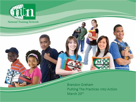 Brandon Graham Putting The Practices Into Action March 20 th.