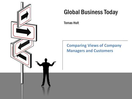 Global Business Today Tomas Hult