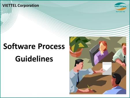 Software Process Guidelines VIETTEL Corporation. CONTENTS I.Standard folder structure II.Review Process III.Data Repository IV.Naming Convention 2.