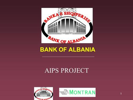 1 BANK OF ALBANIA AIPS PROJECT. 2 What is AIPS? AIPS Project Implementation Plan AIPS Activities & Responsibilities AIPS Operational Security & Resilience.
