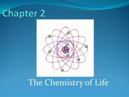 The Chemistry of Life. 2-1: The Nature of Matter Atoms (Basic unit of matter) Subatomic particles that make up atoms are protons, neutrons, and electrons.