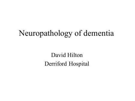 neuropathology of alzheimers dementia Jellinger, j alheimers dis parkinsonism 2014 (2014) neuropathology of dementia disorders j alzheimers neuropathology of dementia disorders.