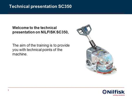 Technical presentation SC350