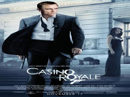 Casino Royale (2006) Casino Royale (2006) is the twenty-first film in the James Bond series; it is directed by Martin Campbell and the first to star Daniel.