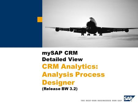 CRM Analytics Architecture
