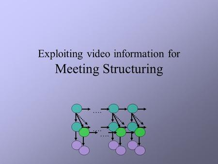 Exploiting video information for Meeting Structuring ….