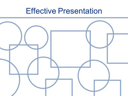 Effective Presentation. Presentation as a Communication Tool  Important thing for an excecutive  To give a report of certain activity  To show our.