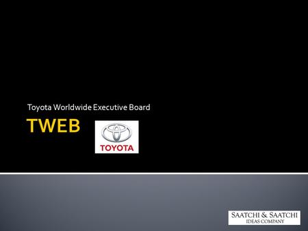Toyota Worldwide Executive Board