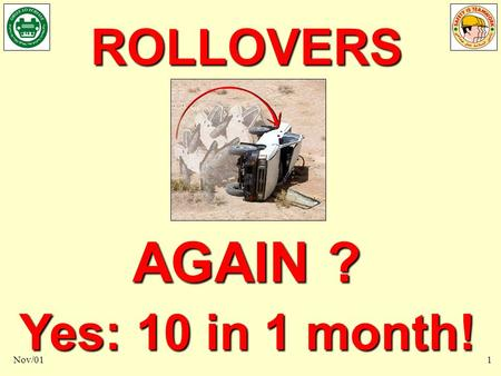 10 Rollovers in 1 month? Nov/011 ROLLOVERS AGAIN ? Yes: 10 in 1 month!