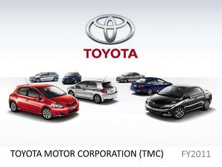 TOYOTA MOTOR CORPORATION (TMC)