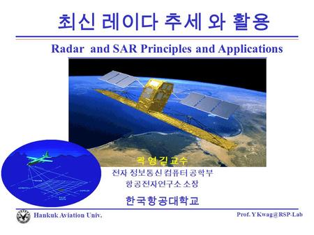 Introduction To Synthetic Aperture Radar Sar Imaging
