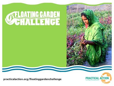 Practicalaction.org/floatinggardenchallenge. What problems are caused by climate change? Look at the pictures given to you by your teacher  What is happening?