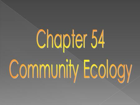 2.d.1 – All biological systems from cells and organisms to populations, communities, and ecosystems are affected by complex biotic and abiotic interactions.