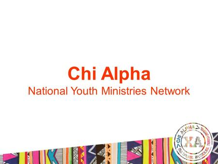 Chi Alpha National Youth Ministries Network. Praise Reports from Chi Alpha Phils National Youth Leaders Summit 2014.