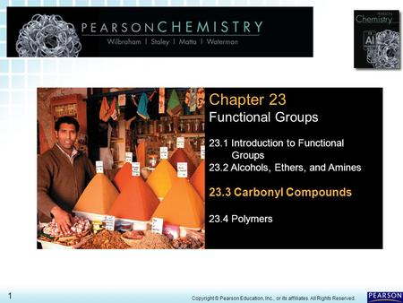 Chapter 23 Functional Groups 23.3 Carbonyl Compounds