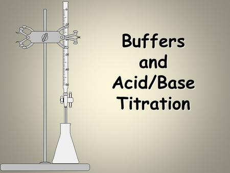 Buffers and Acid/Base Titration. Common Ion Suppose we have a solution containing hydrofluoric acid (HF) and its salt sodium fluoride (NaF). Major species.