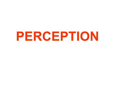 an introduction to the analysis of our perception of reality Difference perception and their effect on communication  difference perception and their effect  anotherexample of physical perception is our idea of.