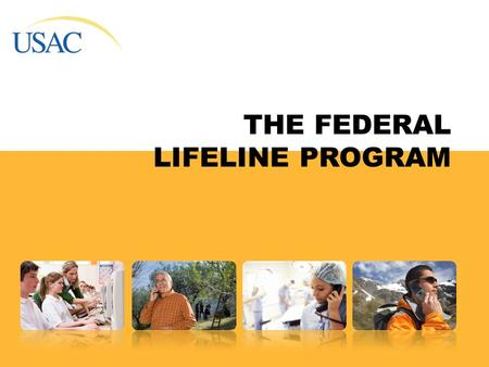 THE FEDERAL LIFELINE PROGRAM. Overview Low-income consumers apply for discounts for local telephone service through the telephone company. Low Income.