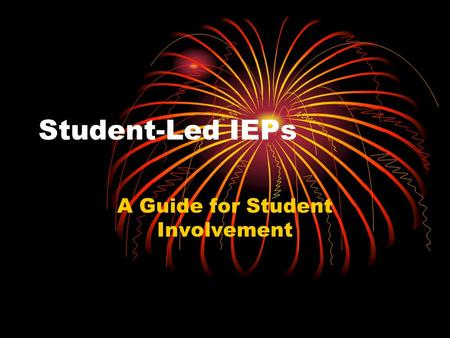 A Guide for Student Involvement