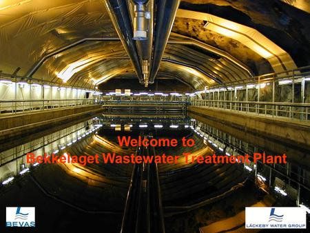 Welcome to Bekkelaget Wastewater Treatment Plant