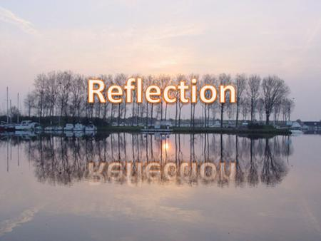 Reflection occurs when a wave reaches a boundary between two media, and some or all of the wave bounces back into the first medium. Reflection can be.