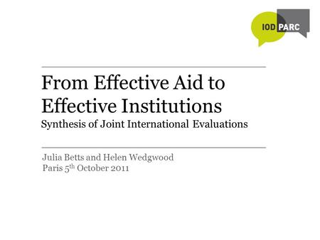 an evaluation of the effects and purposes of foreign aid Foreign aid, economic growth and efficiency development preface preface the swedish agency for development evaluation (sadev) is a government-funded institute that conducts and disseminates.