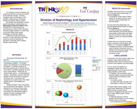 November 3, 2010 Division of Nephrology and Hypertension Nephrology On-Demand Mobile www.nephrologyondemand.orgwww.nephrologyondemand.org Tejas Desai 1,