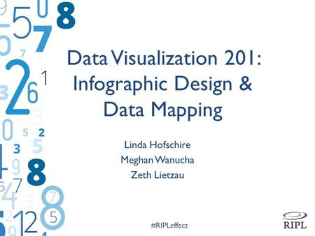 Data Visualization 201: Infographic Design & Data Mapping