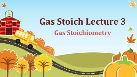 Gas Stoich Lecture 3 Gas Stoichiometry. Ways We've Already Gotten In/Out of Moles Grams  Moles Can use the molar mass of the compound to do that Liters.