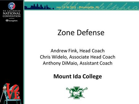 Zone Defense Andrew Fink, Head Coach Chris Widelo, Associate Head Coach Anthony DiMaio, Assistant Coach Mount Ida College.
