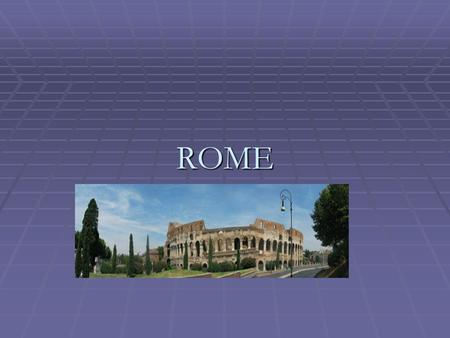 ROME. CULTURAL LEGACY  GREEK  ROMAN  CHRISTIANITY  GERMANIC.