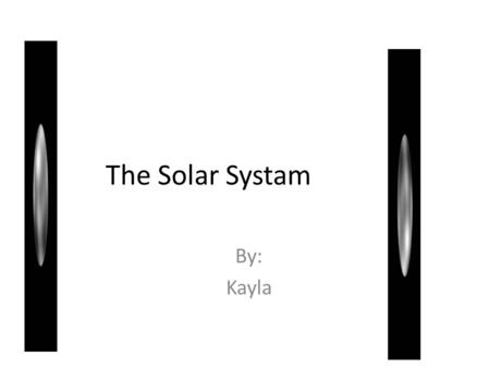 The Solar Systam By: Kayla. What I Know About the Sun The sun is a star. The sun comes up every day. It is very bright.
