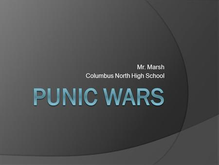 Mr. Marsh Columbus North High School. The Roman Army  All citizens were required to serve  Army was powerful: Organization & fighting skill  Legion-