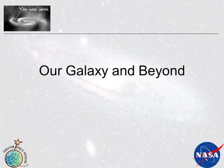 Our Galaxy and Beyond. Our Place in Our Galaxy 3 What's the Difference? Universe Galaxy Image credits: NASA, STScI Solar System.