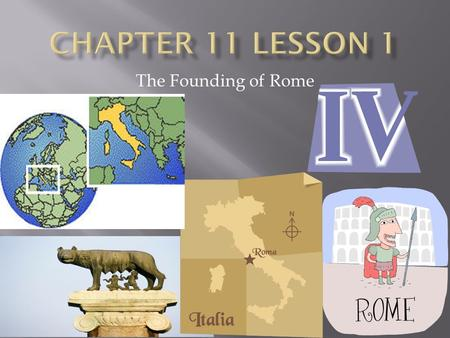 The Founding of Rome.  ID TERMS : REPUBLIC, LEGION, ARCH, AQUADUCT  Explain how the geographic features of an area impacted the founding of Rome. 