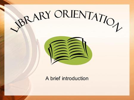 A brief introduction. Welcome to the Library! Library Media Specialist Mr. Uebler.
