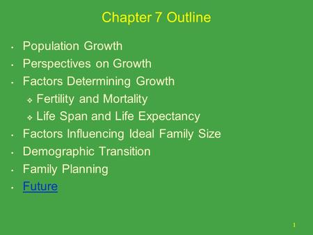 perspectives on population growth Free essay: population growth in perspective introduction to anyone even remotely acquainted with the situation, the ever-expanding world population can.