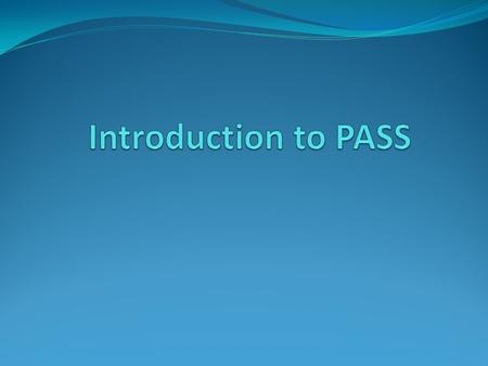 "What is PASS? PASS stands for ""Professional Association for SQL Server"". PASS is an independent, not-for-profit organization run by and for the community."