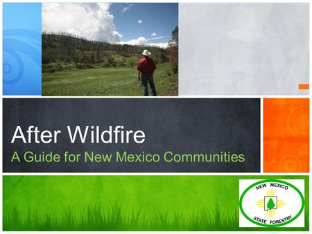 After Wildfire A Guide for New Mexico Communities.