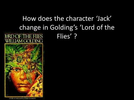 the use of symbolism in the novel lord of the flies by william golding William golding's extraordinary novel 'lord of the flies' supported his entire reputation as a writer full of symbols, this novel continues to entertain readers even now.