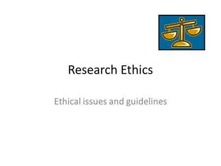 APA's Five General Principles of Ethics: How Do They Matter to an Aspiring Scientist