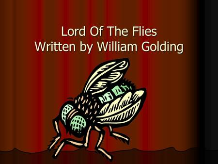 a summary of lord of the flies by william golding Lord of the flies: novel summary: chapter 9, free study guides and book notes including comprehensive chapter analysis, complete summary analysis, author biography information, character.