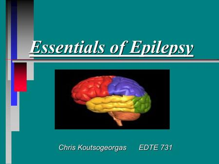 Essentials of Epilepsy