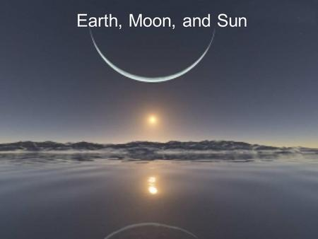 Earth, Moon, and Sun. Table of Contents Introduction Our Solar System Our Sun Earth Moon Solar Eclipse Lunar Eclipse.