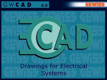 1 6.0 Drawings for Electrical Systems. 2 6.0 It's an easily used software programme for designing and estimating electrical systems for residential and.