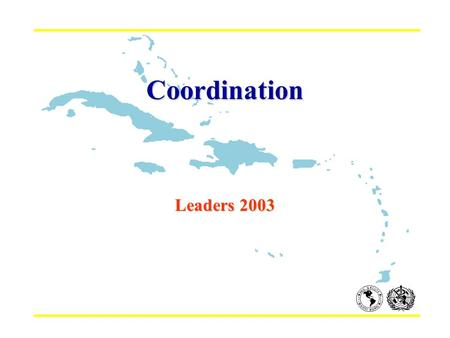 Coordination Leaders 2003. INTERNATIONAL ASSISTANCE IN PERSPECTIVE... ASSISTANCE FROM WITHIN THE COUNTRY EXTERNAL ASSISTANCE (1-2%) BILATERAL MULTILATERAL.