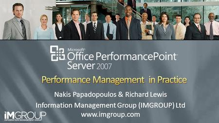 Performance Management in Practice